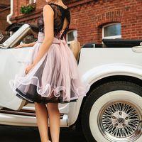 Подружка невесты-розовое и черное