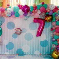 Оформление фотозоны для детского дня рождения. Подобная арка станет истинным украшением любого праздника!