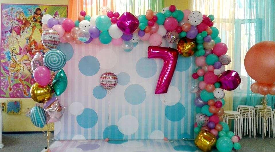 """Оформление фотозоны для детского дня рождения. Подобная арка станет истинным украшением любого праздника! - фото 17706320 """"Фантазия"""" - творческая студия Марины Фоминой"""