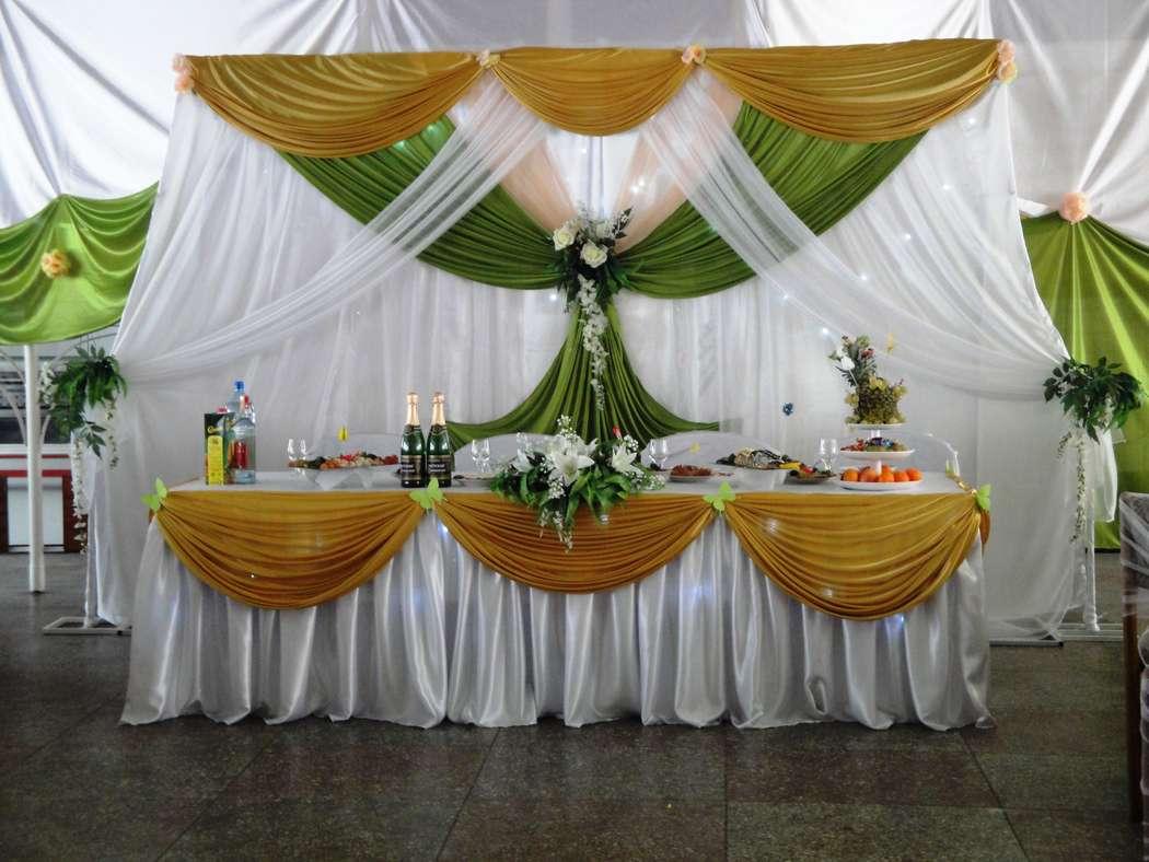 Украшение зала в золотом цвете на свадьбу фото