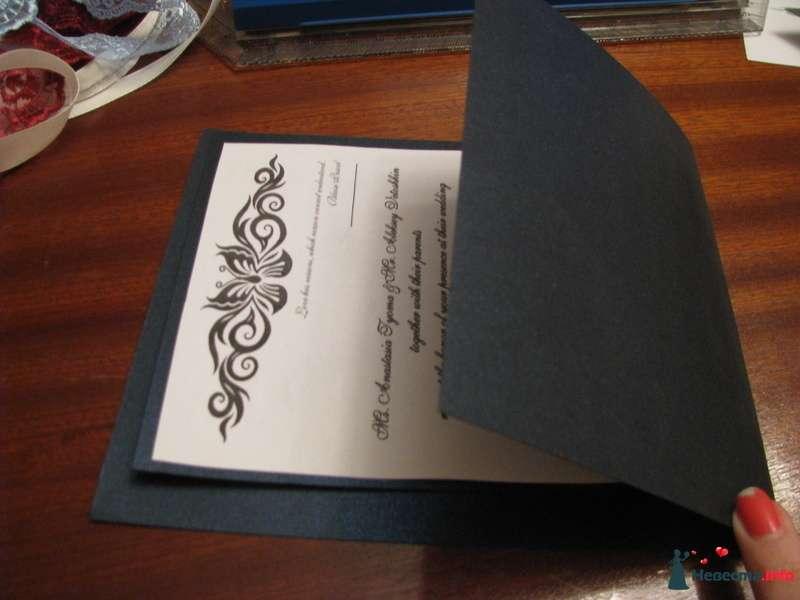 Фото 209303 в коллекции Как сделать свадебные приглашения - NasTyomka