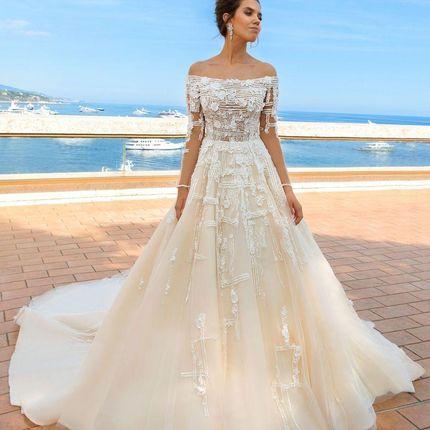 Свадебное платье Бриана от Кутюр Кристал Дизайн