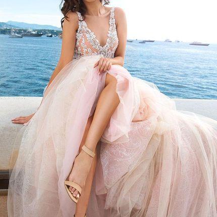 Свадебное платье Андреа от Кутюр Кристал Дизайн