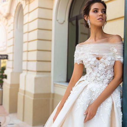 Свадебное платье Эмилия от Кутюр Кристал Дизайн