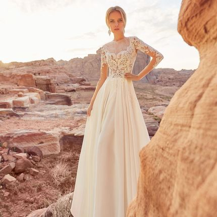 Свадебное платье Зара от Оксаны Мухи