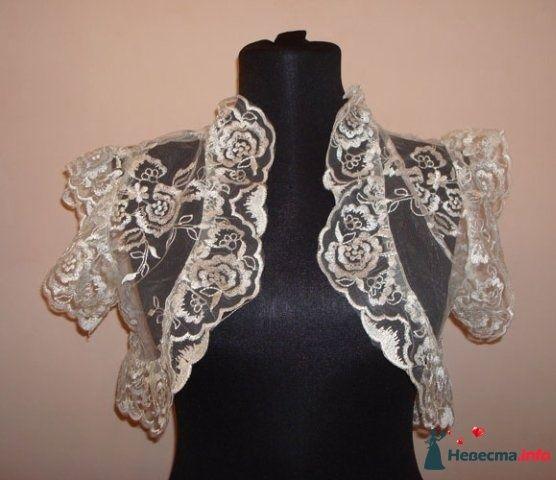 Фото 102188 в коллекции Шубки, накидки, болеро - Платье для Золушки - прокат свадебных платьев