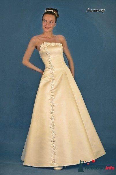 Ласточка  - размер 42-46 прокат 1500р +4000р залога - фото 109322 Платье для Золушки - прокат свадебных платьев