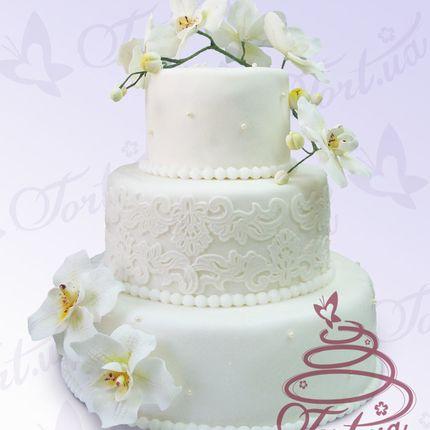 Торт Нежная орхидея, за 1 кг