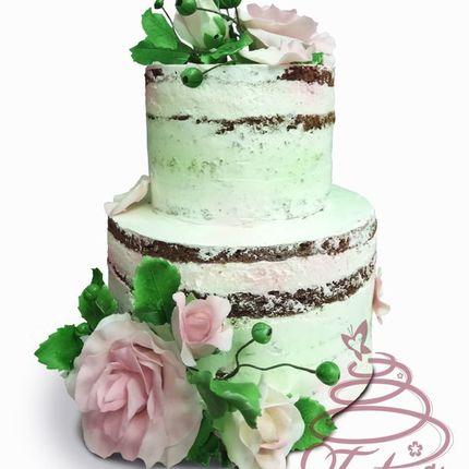 Открытый свадебный торт, цена за 1 кг