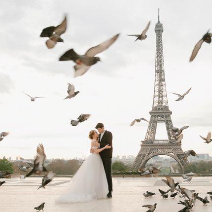 Выездная церемония в Париже