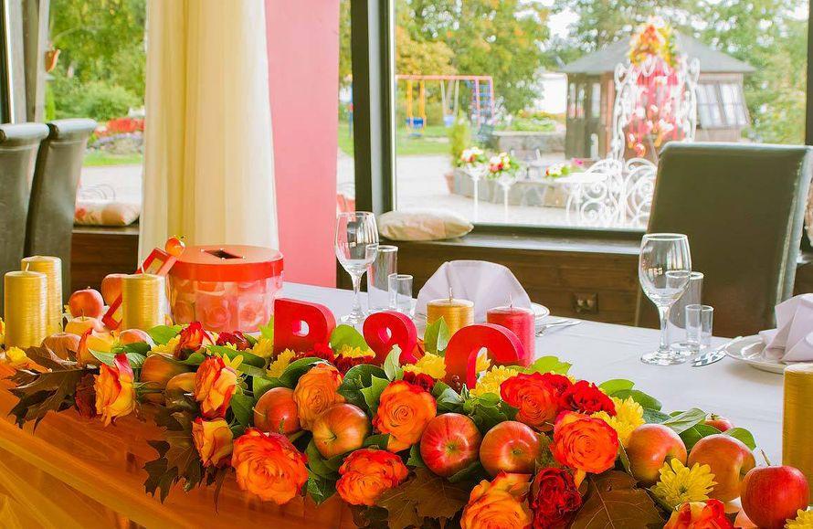 """Свадьба в ресторане """"Панорама"""" - фото 17579446 Дизайн-студия Nommo"""