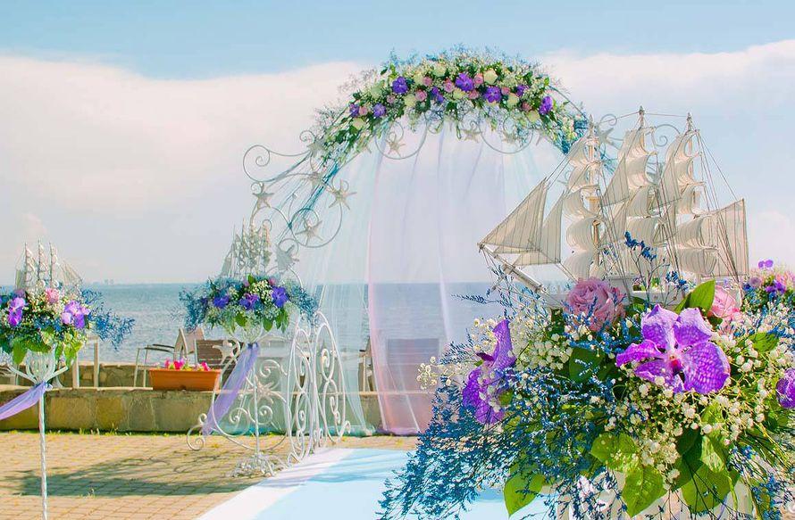 """Свадьба в ресторане """"Панорама"""" - фото 17579570 Дизайн-студия Nommo"""