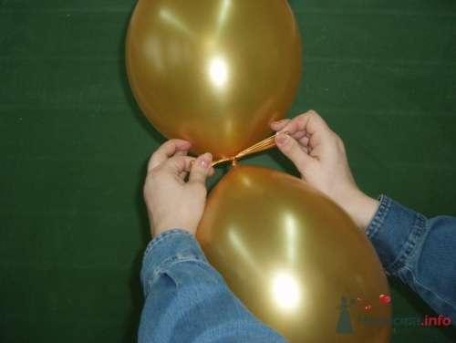Фото 11473 в коллекции Как  украсить зал шариками самостоятельно - Невеста01