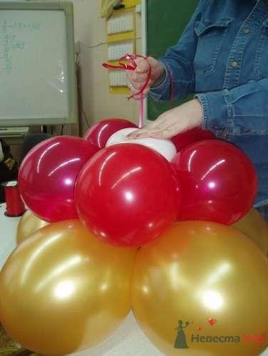 Фото 11480 в коллекции Как  украсить зал шариками самостоятельно - Невеста01