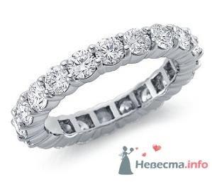 Помолвочное кольцо с бриллиантами - фото 9120 Интернет-магазин Miagold