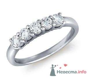 Помолвочное кольцо с бриллиантами - фото 9121 Интернет-магазин Miagold