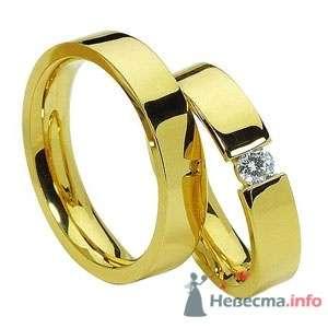 Фото 9949 в коллекции Обручальные кольца из желтого золота - Интернет-магазин Miagold