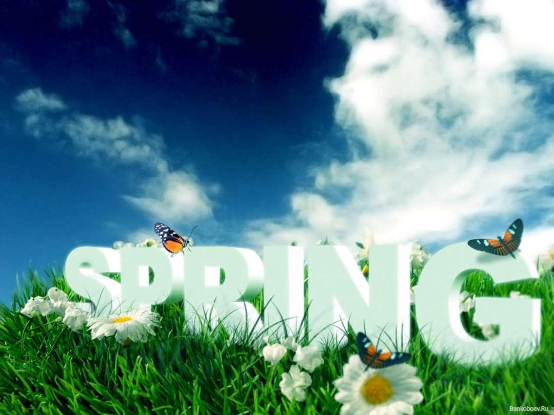 Катя марта, картинка с надписью весна пришла для детей