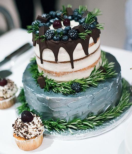 Торт двухярусный оформление фото