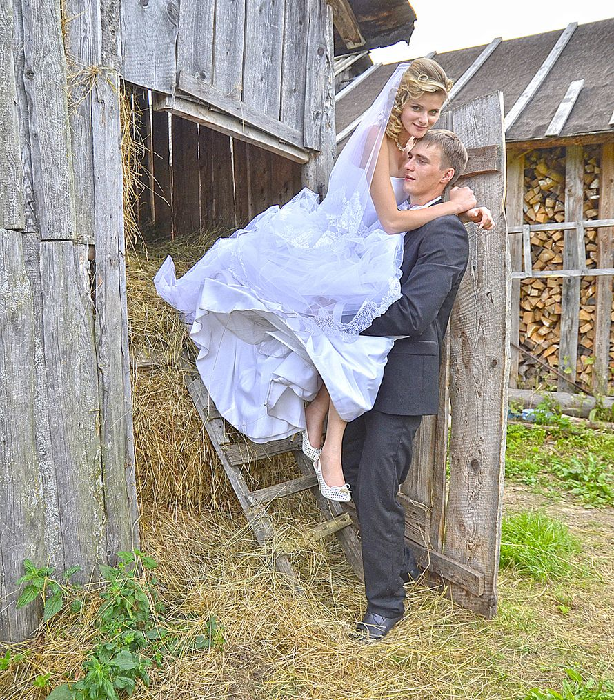 Смешные фото сельских свадеб