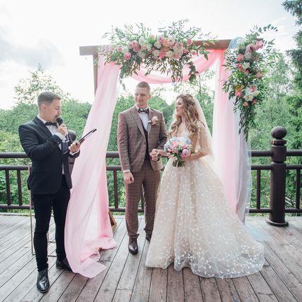 Проведение выездной церемонии и свадьбы, цена за 1 час