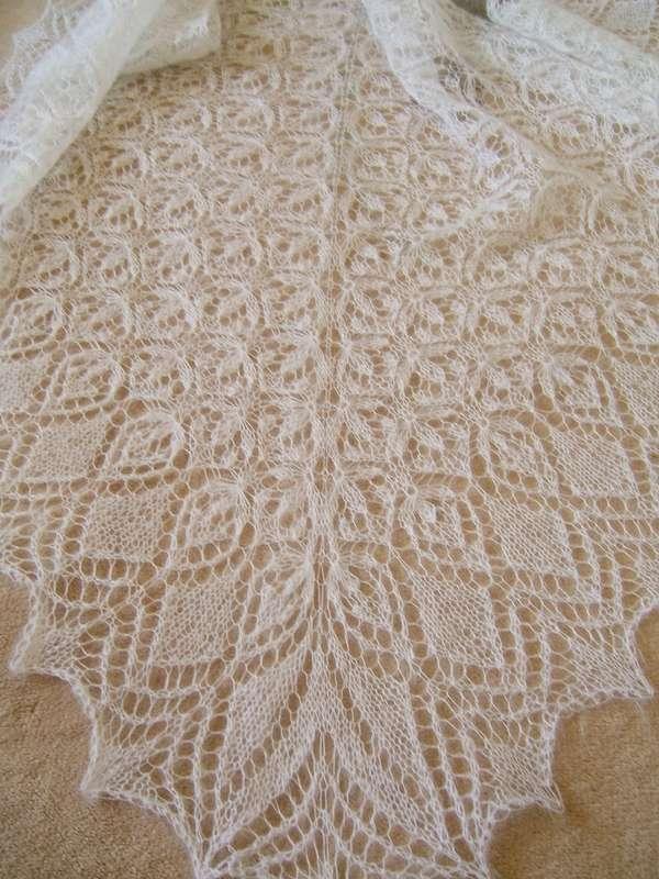 Фото 998539 в коллекции Шали - Екатерина Гусева - палантины, накидки и шали