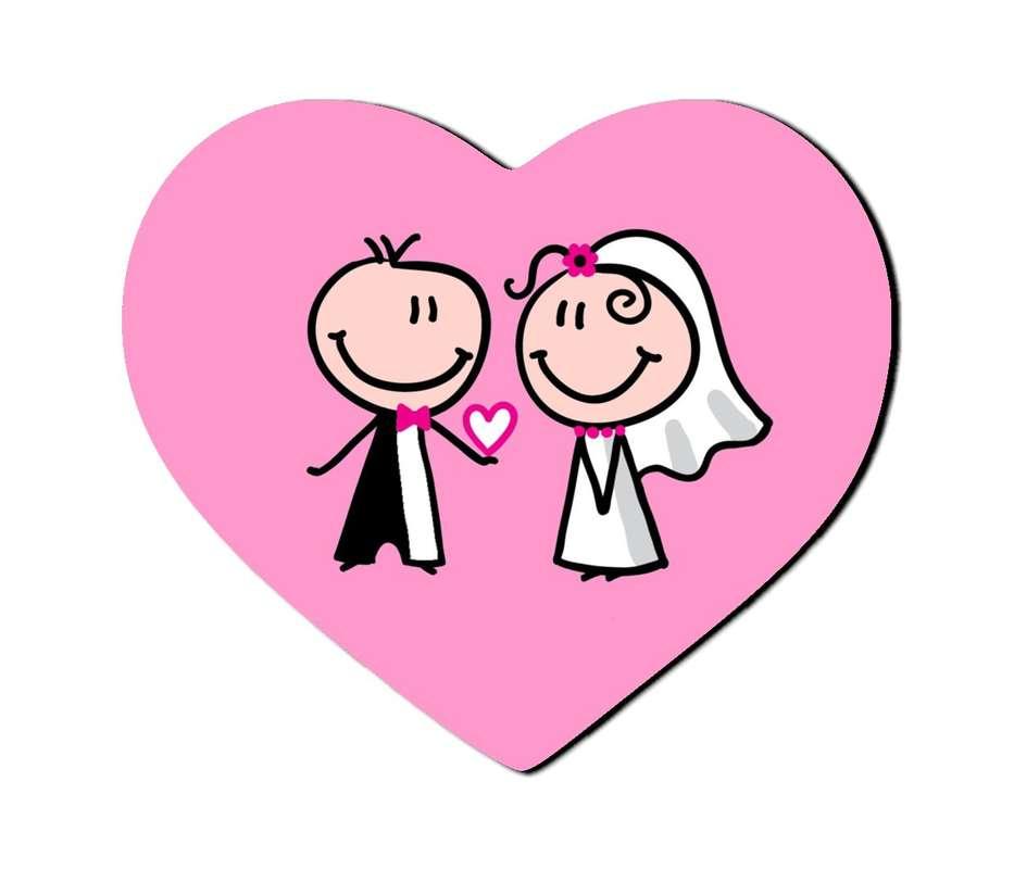 Открытки, свадебные картинки нарисованные с надписями