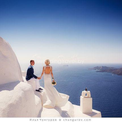 Организация свадебной церемонии на Санторини