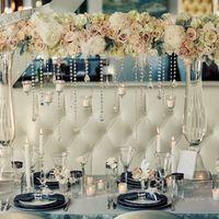 Цветы, свечи. Романтично, гармонично.