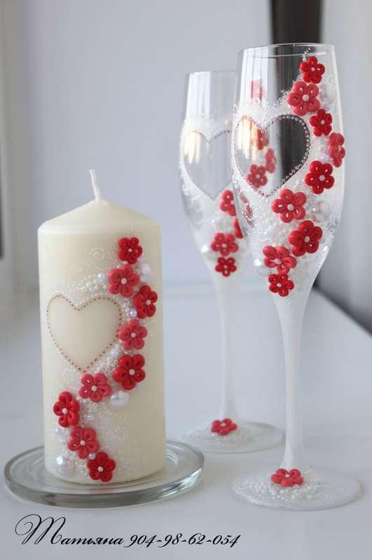 Фото 1009789 в коллекции Комплекты - Свадебные аксессуары от WeddingDecor