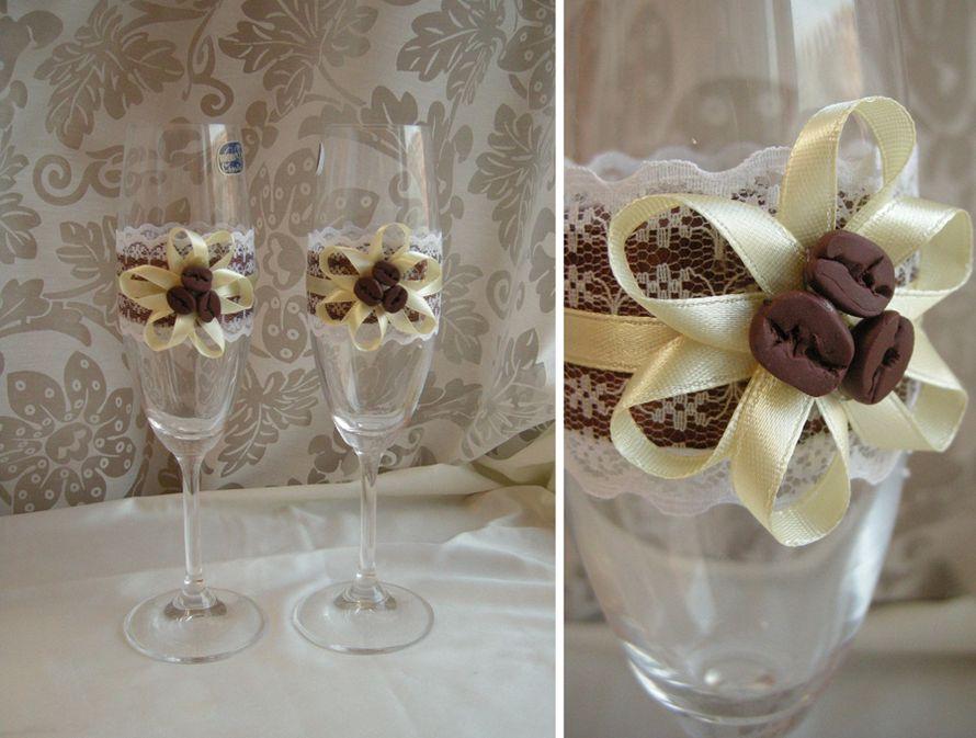 Фото 1041137 в коллекции Бокалы - Свадебные аксессуары от WeddingDecor