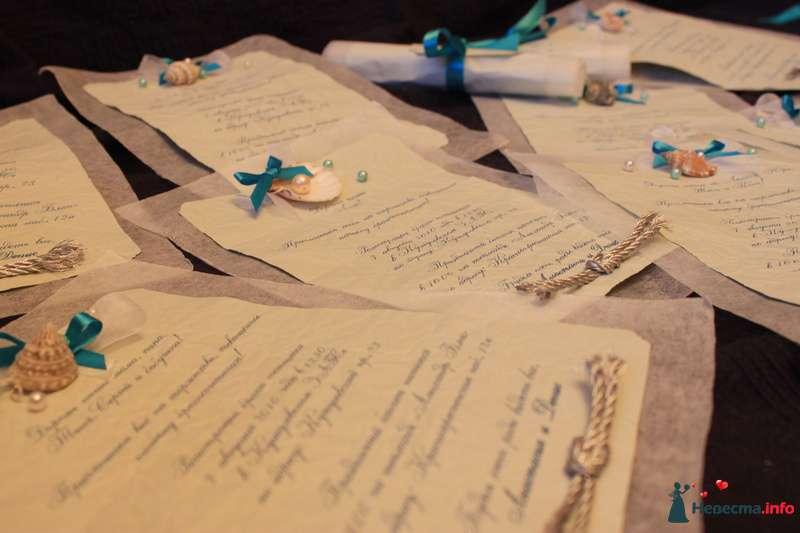 Приглашение на свадьбу в морском стиле. - фото 124066 Timeofwedding
