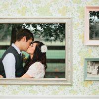 Аксессуары для свадебной фотосессии. Рамки. Свадебный Гипермаркет Love Land.