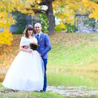Свадебная прогулка в Екатерининском парке. Осенняя свадьба.