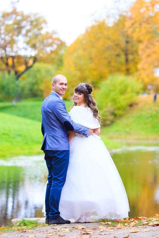 Свадебная прогулка в Екатерининском парке. Осенняя свадьба. - фото 3794893 Фотограф Петров Максим