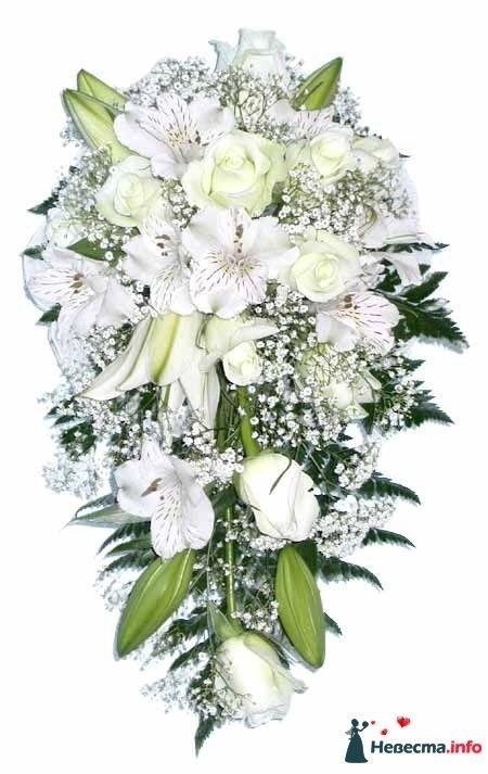Белый - розы и лилии - фото 124684 Zmeika