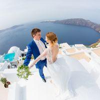 Невеста на Санторини. Самый романтический остров на Земле.