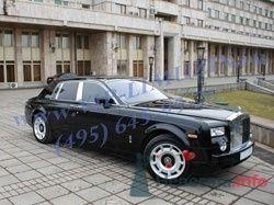 """Роллс-Ройс Фантом 2007 г. черный - фото 210 """"Ника"""" - свадебные лимузины и авто"""