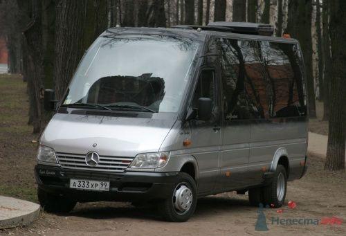 """Мерседес Спринтер серебристо-черный VIP класс - фото 212 """"Ника"""" - свадебные лимузины и авто"""