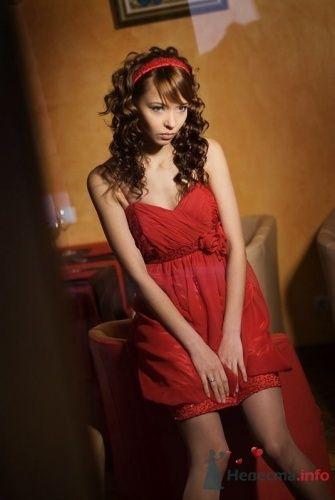 """Коктейльное - в красном 6000 руб. - фото 3594 """"Svadbasale"""" - свадебные, вечерние платья"""