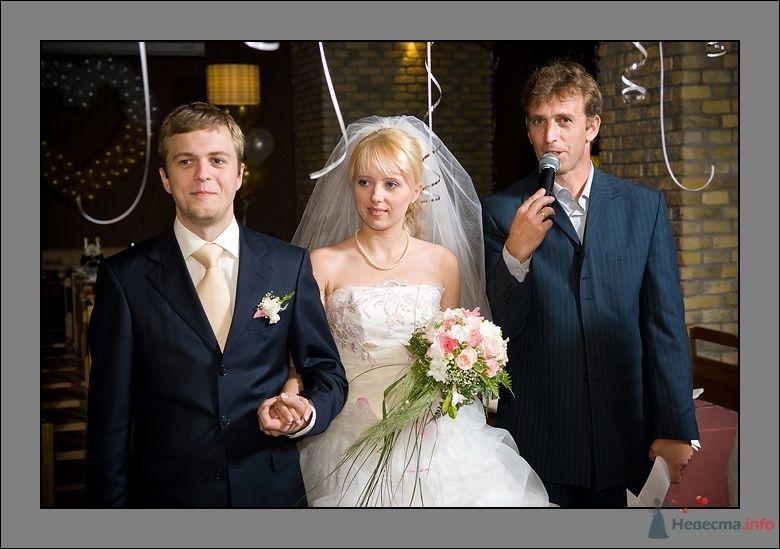 Свадьба Марии и Виктора - фото 40892 Ведущий Сергей Можаровский