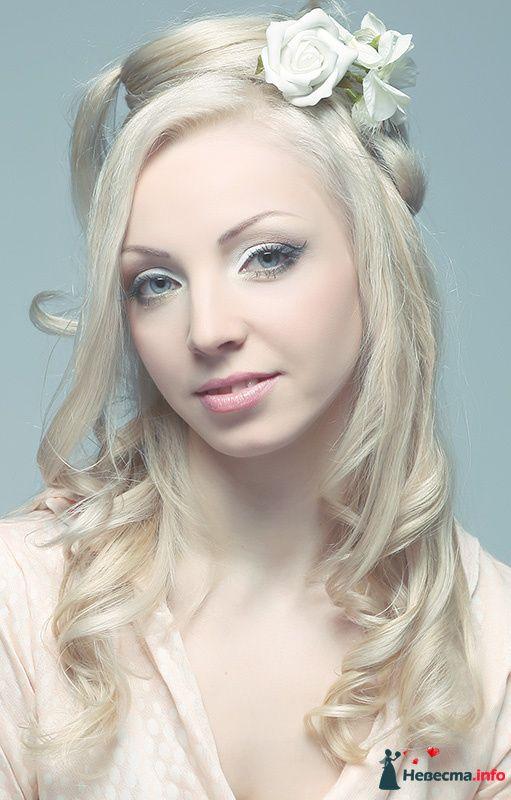 Фото 107243 в коллекции Мои фотографии - Хабарова Марина - прическа и макияж на свадьбу