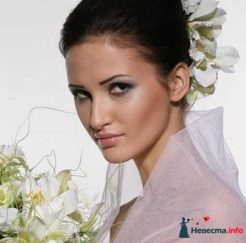 Фото 107245 в коллекции Мои фотографии - Хабарова Марина - прическа и макияж на свадьбу