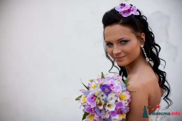 Фото 107246 в коллекции Мои фотографии - Хабарова Марина - прическа и макияж на свадьбу