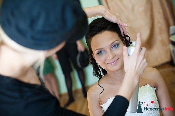 Фото 107249 в коллекции Мои фотографии - Хабарова Марина - прическа и макияж на свадьбу