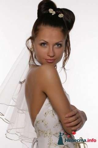 Фото 107254 в коллекции Мои фотографии - Хабарова Марина - прическа и макияж на свадьбу