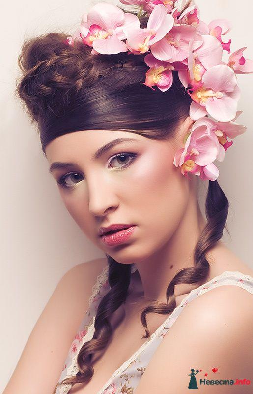 Класические и не очень невесты. В моде нежная пастель. - фото 107909 Хабарова Марина - прическа и макияж на свадьбу