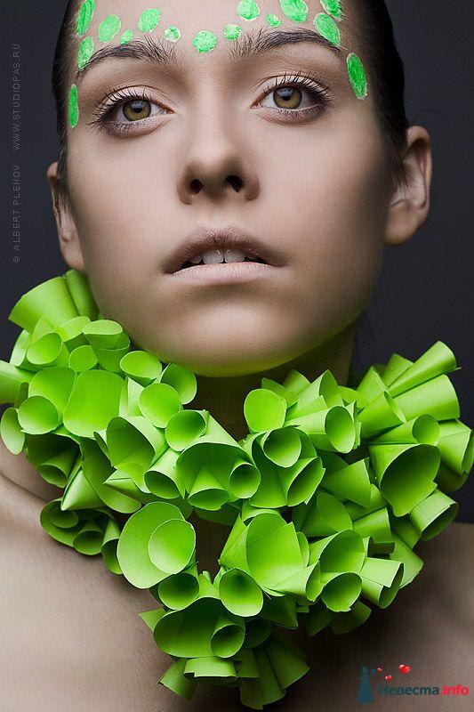 Фото 109930 в коллекции Творческие make-up работы - Хабарова Марина - прическа и макияж на свадьбу