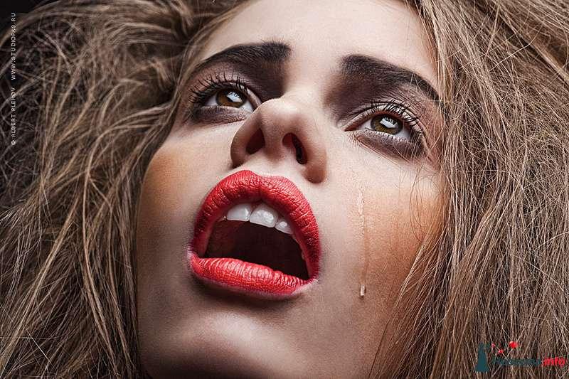 Фото 109934 в коллекции Творческие make-up работы - Хабарова Марина - прическа и макияж на свадьбу