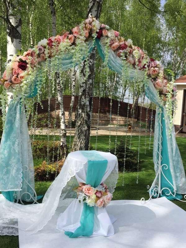 Выездная регистрация брака - фото 15626346 Шарм - оформление шарами и тканями